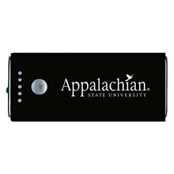 Appalachian State University -Portable Cell Phone 5200 mAh Power Bank Charger -Black
