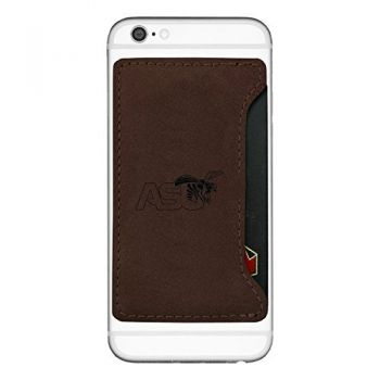 Alabama State University-Cell Phone Card Holder-Brown