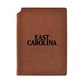 East Carolina University Velour Journal with Pen Holder|Carbon Etched|Officially Licensed Collegiate Journal|
