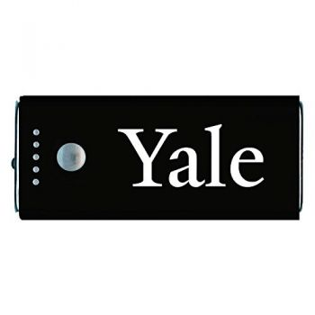 Yale University -Portable Cell Phone 5200 mAh Power Bank Charger -Black