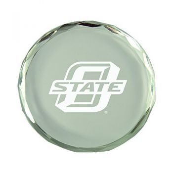 Old Dominion University-Crystal Paper Weight