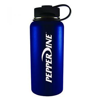 Pepperdine university -32 oz. Travel Tumbler-Blue