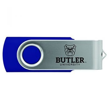 Butler University -8GB 2.0 USB Flash Drive-Blue