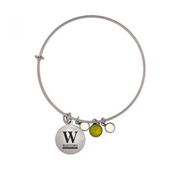 Wofford College-Frankie Tyler Charmed Bracelet