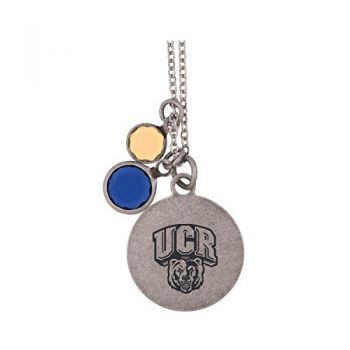University of California, Riverside-Frankie Tyler by LXG Charmed Necklace