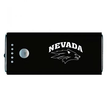 University of Nevada -Portable Cell Phone 5200 mAh Power Bank Charger -Black