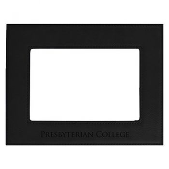 Presbyterian College-Velour Picture Frame 4x6-Black