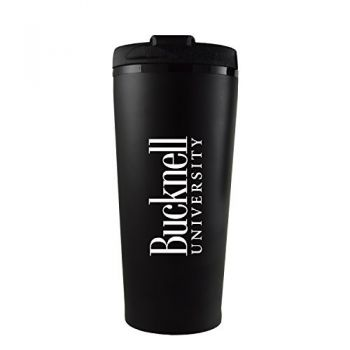 Bucknell University -16 oz. Travel Mug Tumbler-Black
