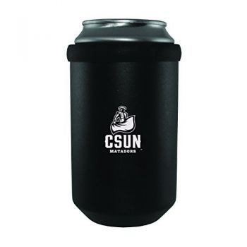 California State University, Northridge -Ultimate Tailgate Can Cooler-Black