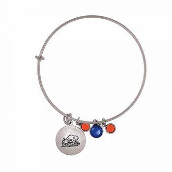 Bucknell University-Frankie Tyler Charmed Bracelet