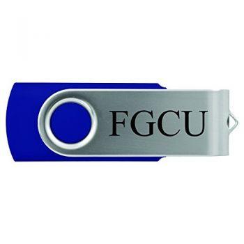 Florida Gulf Coast University -8GB 2.0 USB Flash Drive-Blue