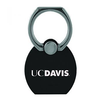 University of California, Davis|Multi-Functional Phone Stand Tech Ring|Black