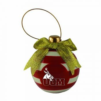 University of Central Missouri -Christmas Bulb Ornament