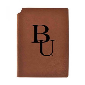 Belmont University Velour Journal with Pen Holder|Carbon Etched|Officially Licensed Collegiate Journal|