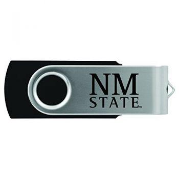 New Mexico State-8GB 2.0 USB Flash Drive-Black