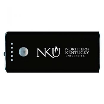 Northern Kentucky University -Portable Cell Phone 5200 mAh Power Bank Charger -Black