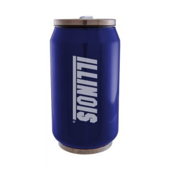 University of Illinois at Urbana–Champaign - Stainless Steel Tailgate Can - Blue