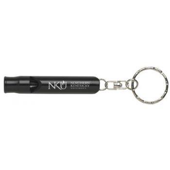Northern Kentucky University - Whistle Key Tag - Black