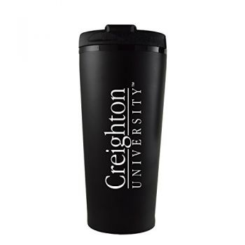 Creighton University -16 oz. Travel Mug Tumbler-Black