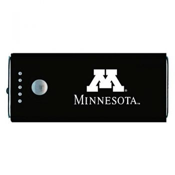 University of Minnesota -Portable Cell Phone 5200 mAh Power Bank Charger -Black