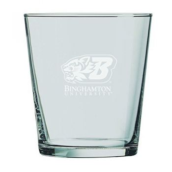 Binghamton University-13 oz. Rocks Glass
