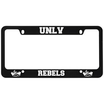 University of Nevada Las Vegas-Metal License Plate Frame-Black