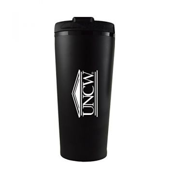 University of North Carolina Wilmington -16 oz. Travel Mug Tumbler-Black