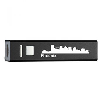 Quick Charge Portable Power Bank 2600 mAh - Phoenix City Skyline