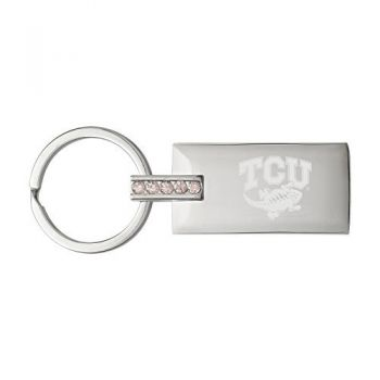 Texas Christian University-Jeweled Key Tag