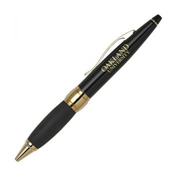 Oakland University - Twist Action Ballpoint Pen - Black