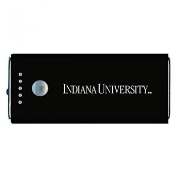Indiana University -Portable Cell Phone 5200 mAh Power Bank Charger -Black