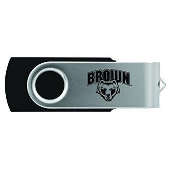 Brown University -8GB 2.0 USB Flash Drive-Black