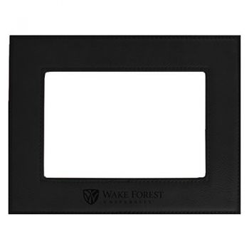 Wake Forest University-Velour Picture Frame 4x6-Black
