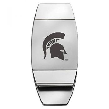Michigan State University - Two-Toned Money Clip