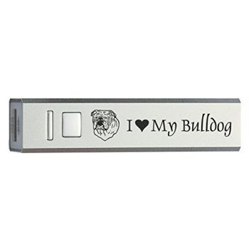 Quick Charge Portable Power Bank 2600 mAh  - I Love My Bull Dog