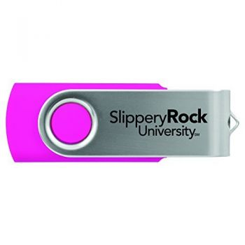 Slippery Rock University -8GB 2.0 USB Flash Drive-Pink