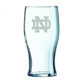 University of Notre Dame-Irish Pub Glass