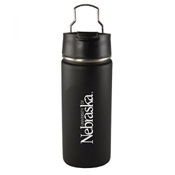 University of Nebraska-20 oz. Travel Tumbler-Black