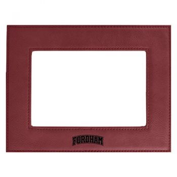 Fordham University-Velour Picture Frame 4x6-Burgundy