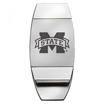 Mississippi State Univerty - Two-Toned Money Clip