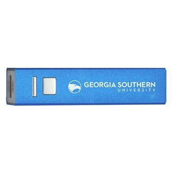 Georgia Southern University - Portable Cell Phone 2600 mAh Power Bank Charger - Blue