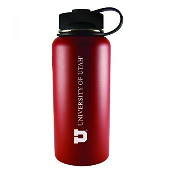 University of Utah-32 oz. Travel Tumbler-Red