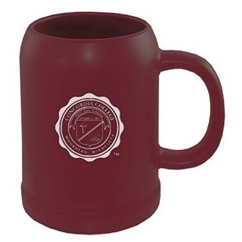Concordia University Chicago -22 oz. Ceramic Stein Coffee Mug-Burgundy