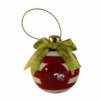 Alabama State University -Christmas Bulb Ornament
