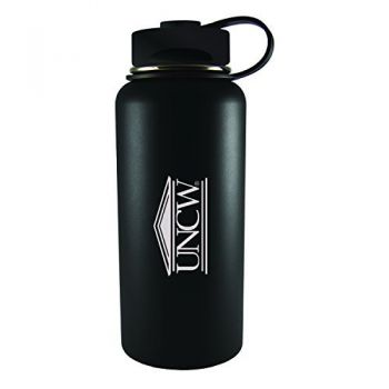 University of North Carolina Wilmington -32 oz. Travel Tumbler-Black