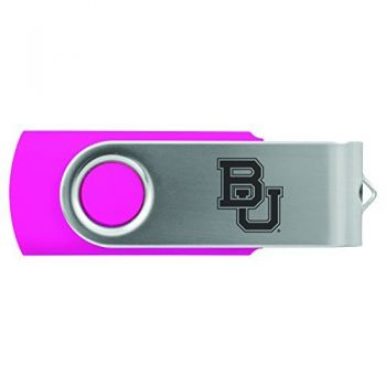 Baylor University -8GB 2.0 USB Flash Drive-Pink