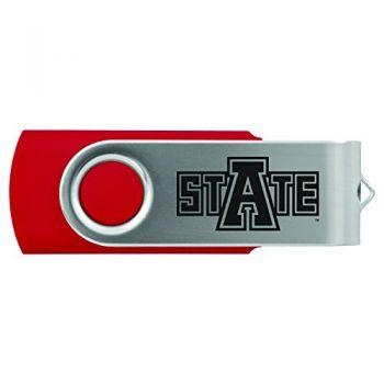 Arkansas State University -8GB 2.0 USB Flash Drive-Red