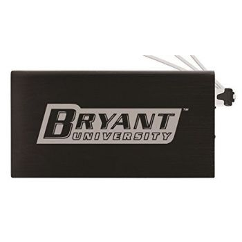 8000 mAh Portable Cell Phone Charger-Bryant University -Black