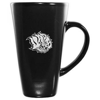University of Arkansas at Pine Buff -16 oz. Tall Ceramic Coffee Mug-Black
