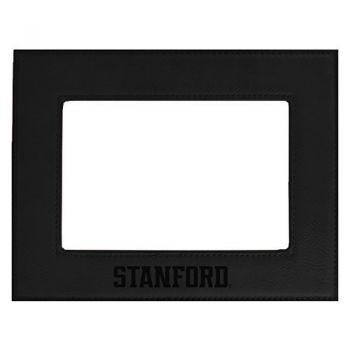 Stanford University-Velour Picture Frame 4x6-Black
